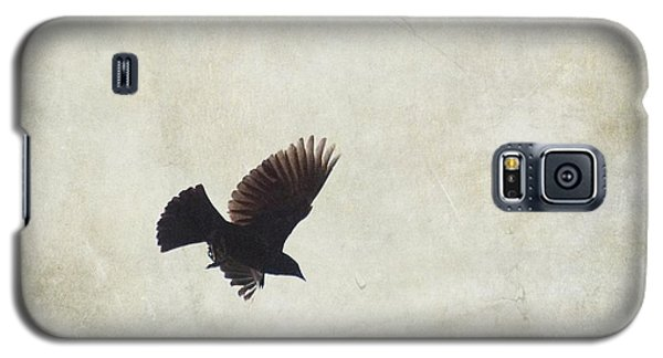 Galaxy S5 Case featuring the photograph Minimalistic Bird In Flight  by Aimelle