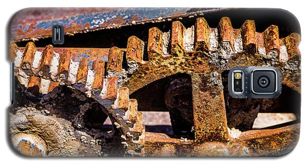 Galaxy S5 Case featuring the photograph Mining Gears by Onyonet  Photo Studios