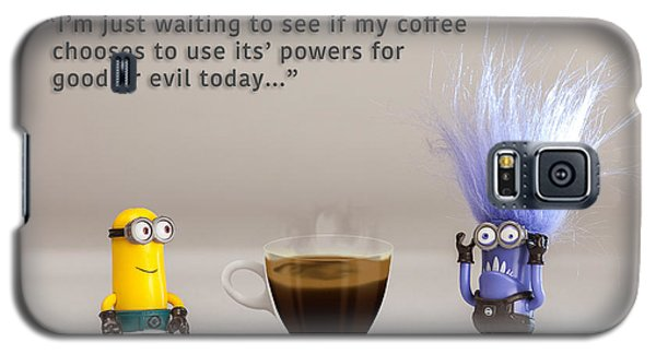 Minion Quote 16 Galaxy S5 Case by Tim Nichols