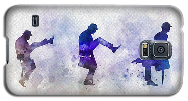 Ministry Of Silly Walks Galaxy S5 Case by Rebecca Jenkins
