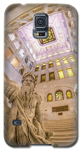 Minneapolis City Hall Rotunda, Father Of Waters Galaxy S5 Case by Jim Hughes