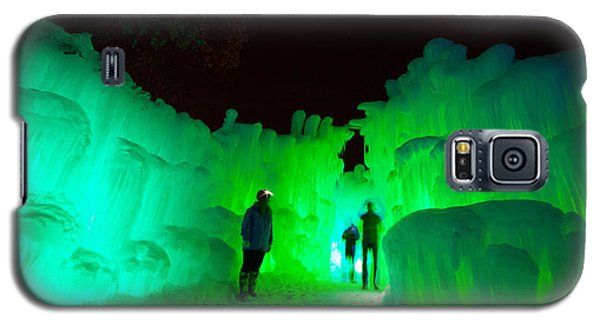 Ice Castles Of Minnesota Galaxy S5 Case