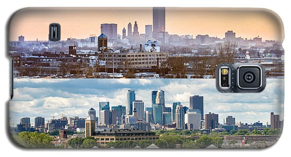 Minneapolis Skylines - Old And New Galaxy S5 Case