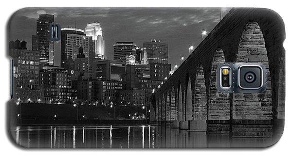 Minneapolis Stone Arch Bridge Bw Galaxy S5 Case