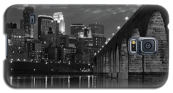Minneapolis Stone Arch Bridge Bw Galaxy S5 Case