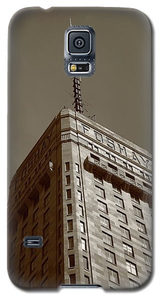 Galaxy S5 Case featuring the photograph Minneapolis Tower 6 Sepia by Frank Romeo