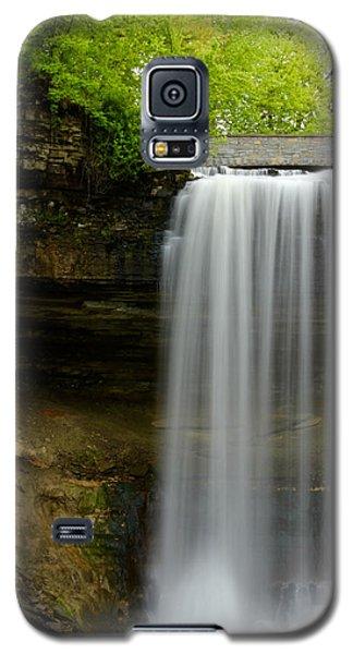 Minnehaha Falls Galaxy S5 Case by Tiffany Erdman