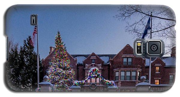 Christmas Lights Series #6 - Minnesota Governor's Mansion Galaxy S5 Case