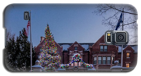 Christmas Lights Series #6 - Minnesota Governor's Mansion Galaxy S5 Case