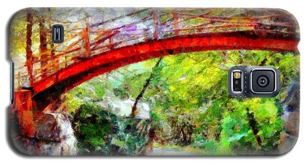 Minnewaska Wooden Bridge Galaxy S5 Case
