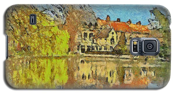 Minnewater Lake In Bruges Belgium Galaxy S5 Case