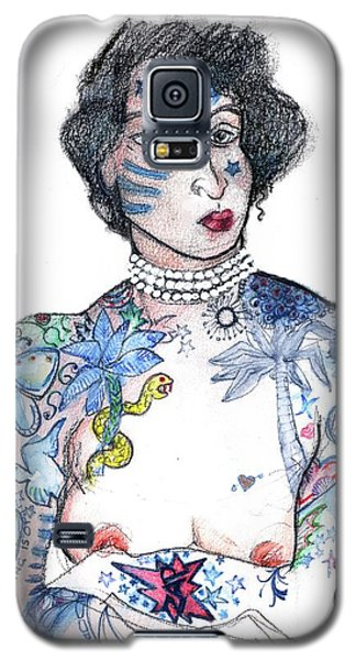 Minnie - An Homage To Maud Wagner, Tattoos  Galaxy S5 Case