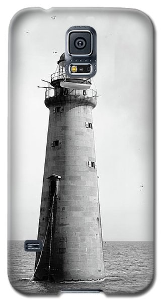 Galaxy S5 Case featuring the photograph Minot's Ledge Lighthouse, Boston, Mass Vintage by Vintage