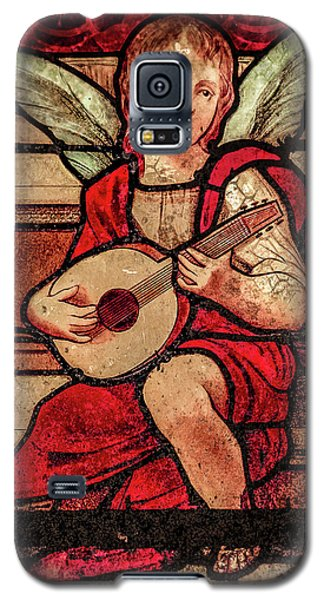 Galaxy S5 Case featuring the photograph Paris, France - Minstrel Angel by Mark Forte