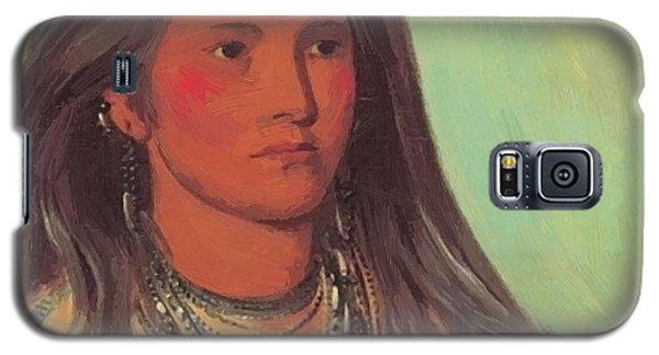 Mint A Mandan Girl 1832 Galaxy S5 Case