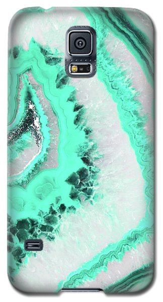Mint Agate Galaxy S5 Case