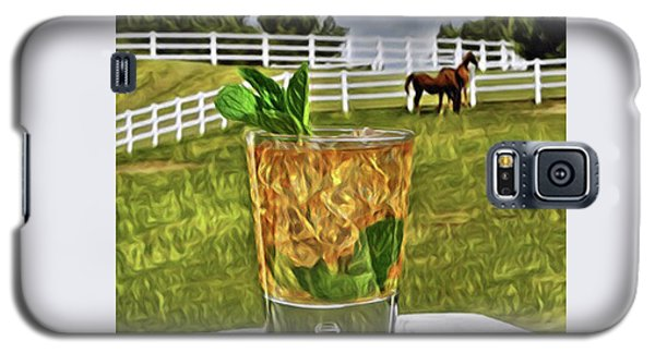 Mint Julep Kentucky Derby Galaxy S5 Case