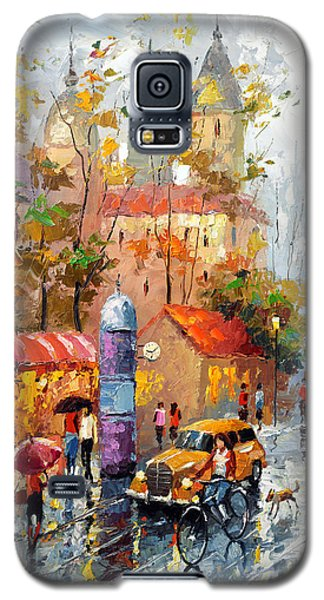 Galaxy S5 Case featuring the photograph Minutes Of Waiting 2  by Dmitry Spiros