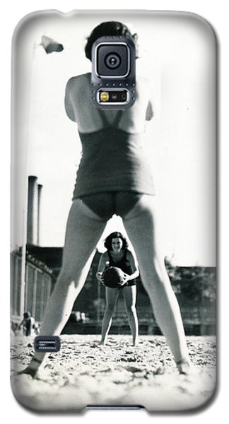 Galaxy S5 Case featuring the photograph Miramar Pool, 1932 by Cole Thompson