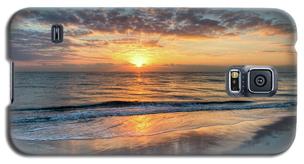 Galaxy S5 Case featuring the photograph Mirror At Sunrise by Debra and Dave Vanderlaan