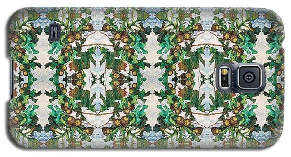 Mirror Image Of Acorns On An Oak Tree Galaxy S5 Case