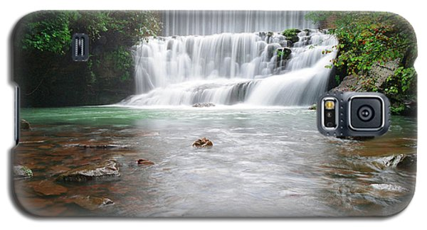 Galaxy S5 Case featuring the photograph Mirror Lake Falls 2 by Renee Hardison
