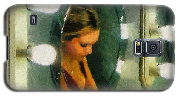 Galaxy S5 Case featuring the painting Mirror Mirror On The Wall by Jeff Kolker