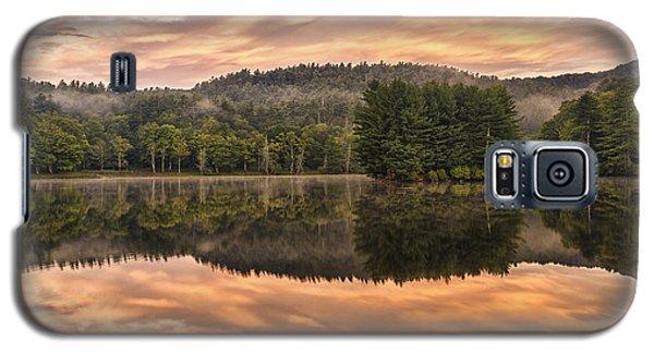 Bass Lake Sunrise - Moses Cone Blue Ridge Parkway Galaxy S5 Case