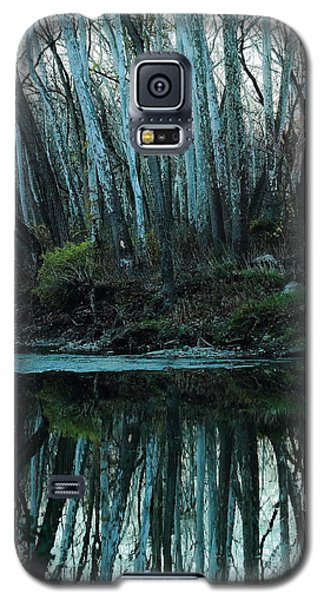 Galaxy S5 Case featuring the photograph Mirrored by Bruce Patrick Smith
