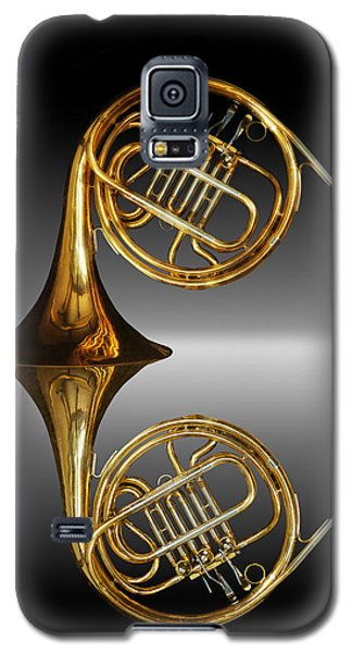 Galaxy S5 Case featuring the photograph Mirrored Horn by Joe Bonita