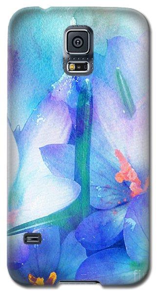 Galaxy S5 Case featuring the digital art Mirthfulness by Klara Acel