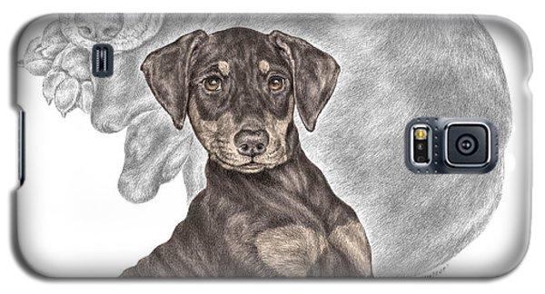 Mischief ... Moi? - Doberman Pinscher Puppy - Color Tinted Galaxy S5 Case