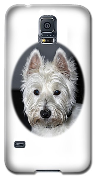 Mischievous Westie Dog Galaxy S5 Case
