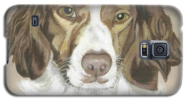 Galaxy S5 Case featuring the painting Miss Abby by Carol Wisniewski