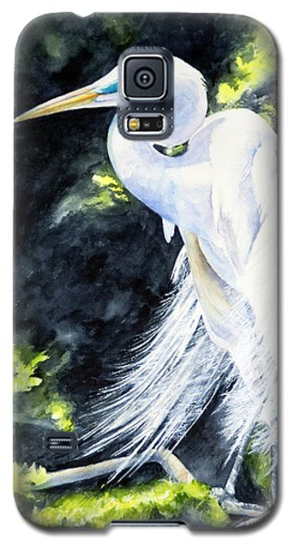 Miss April - Great Egret Galaxy S5 Case