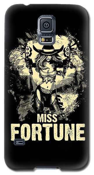 Nerd Galaxy S5 Case - Miss Fortune - Vintage Comic Line Art Style by Dusan Naumovski