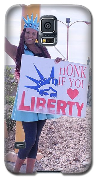Miss Liberty Galaxy S5 Case