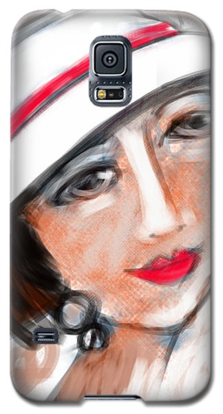 Miss Mary Galaxy S5 Case by Elaine Lanoue