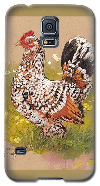 Miss Millie Fleur Galaxy S5 Case by Tracie Thompson