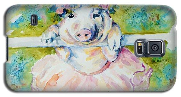Miss Piggy At The Bar Galaxy S5 Case