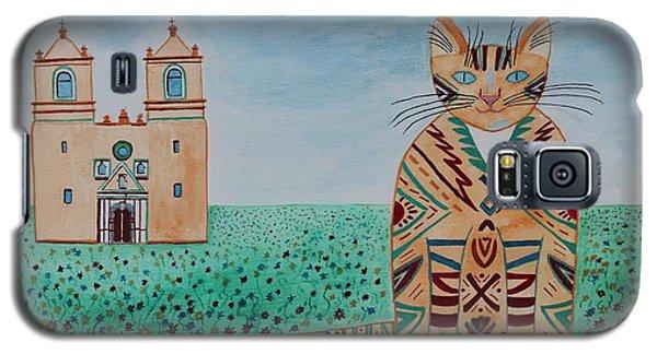 Mission Concepcion Cat Galaxy S5 Case