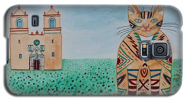Mission Concepcion Cat Galaxy S5 Case