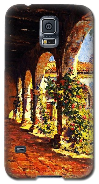Mission Corridor San Juan Capistrano Galaxy S5 Case by Pg Reproductions