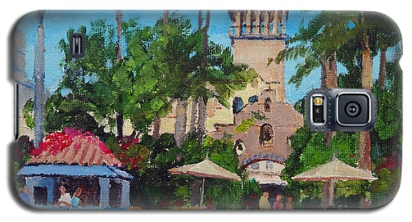 Mission Inn On A Sunny Day Galaxy S5 Case