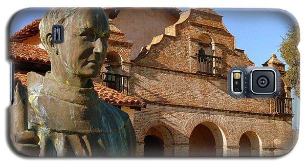 Mission San Antonio And Father Serra Galaxy S5 Case