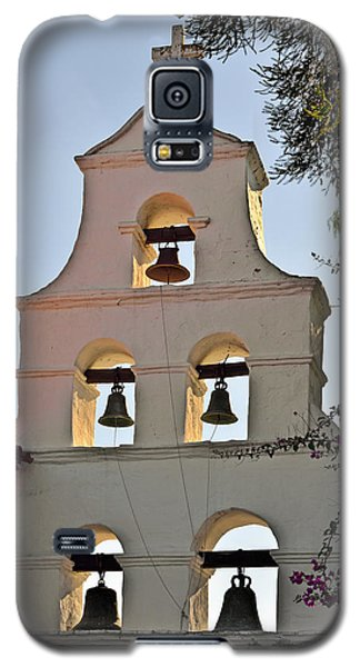 Galaxy S5 Case featuring the photograph Mission San Diego De Alcala Bell Tower by Christine Till