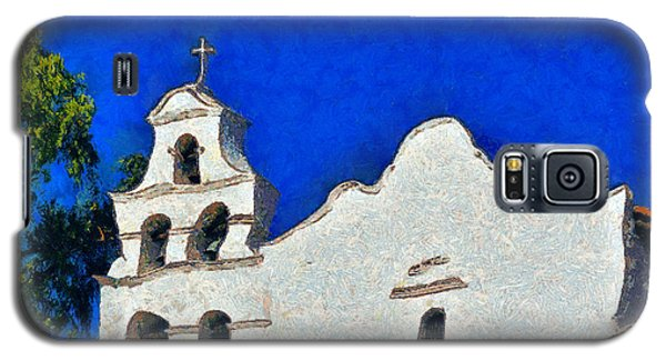 Galaxy S5 Case featuring the photograph Mission San Diego De Alcala by Christine Till