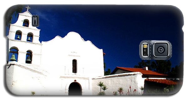 Galaxy S5 Case featuring the photograph Mission San Diego De Alcala by Christopher Woods
