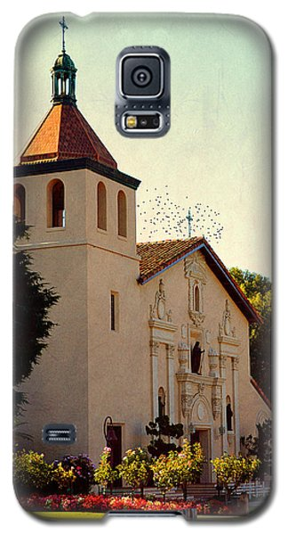 Galaxy S5 Case featuring the photograph Mission Santa Clara - California by Glenn McCarthy Art and Photography