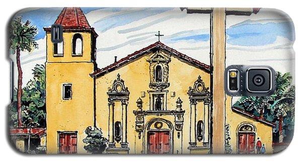 Mission Santa Clara De Asis Galaxy S5 Case by Terry Banderas